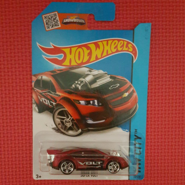 HOT WHEELS 	SUPER VOLT