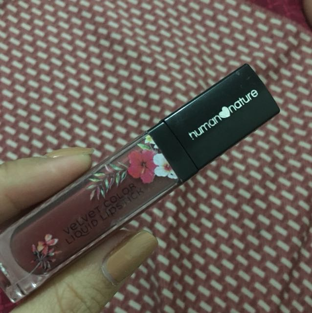Human Nature Velvet Color Lipstick