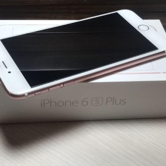 I phone 6s plus 64g玫瑰金