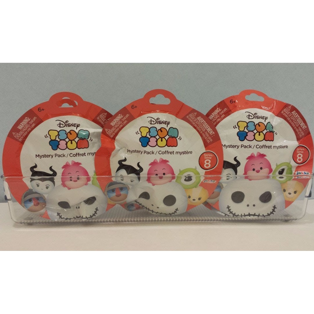 (IN STOCK NOW! CHEAPEST) Tsum Tsum Mystery Pack Series 8