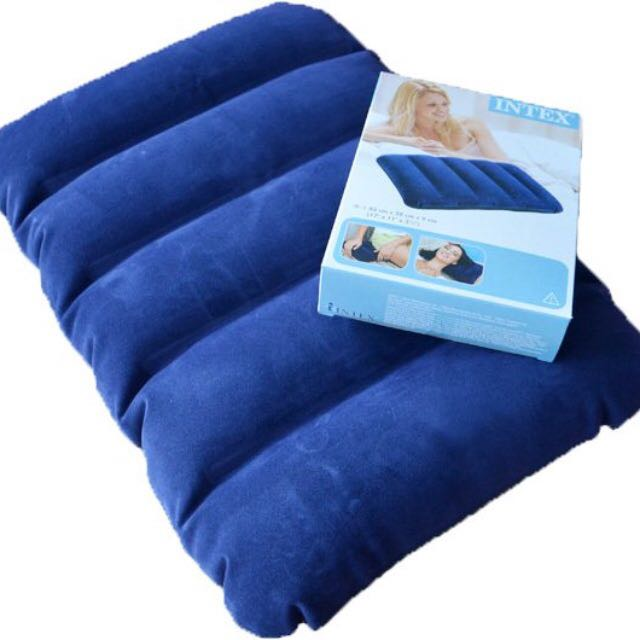 life in pump w mattress double fl bestway air bw inflatable blue foot bed d built