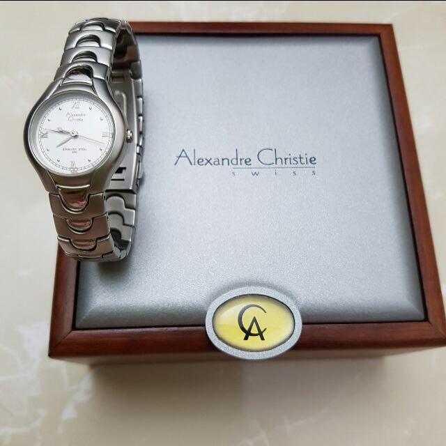 Jam Tangan Alexandre Christie Swiss Original