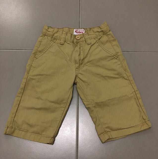 Kickers khaki shorts