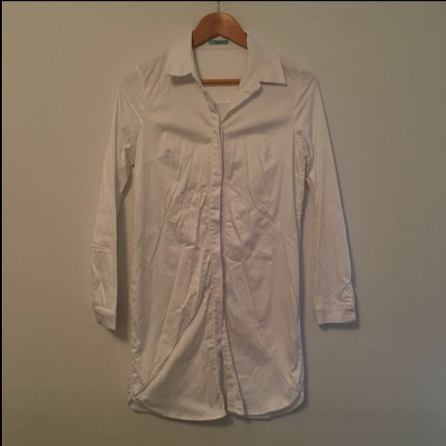 Kookai White Dress Shirt