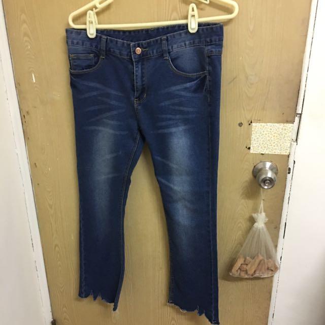 牛仔褲L號