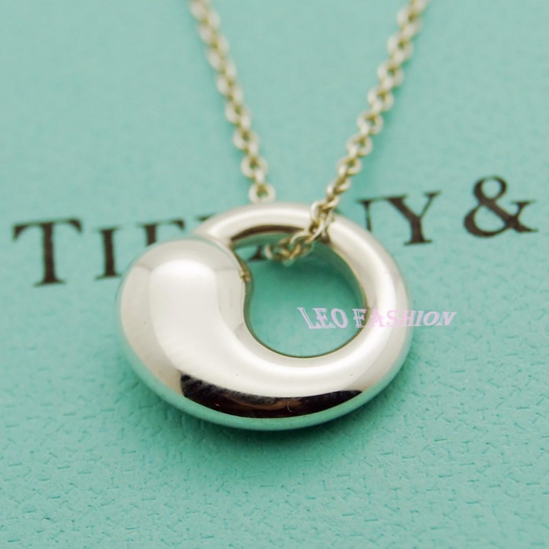 【LEO FASHION】 二手正美品 Tiffany & Co. 經典勾玉項鍊