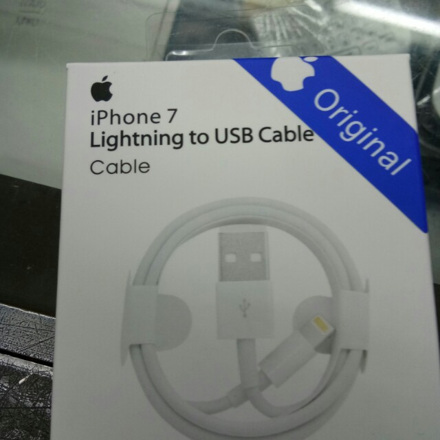 Lightning cable for iphone 7 with serial number