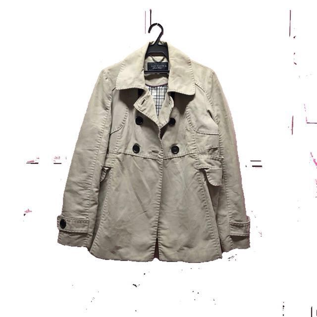 Limited Edition Beige Zara Coat