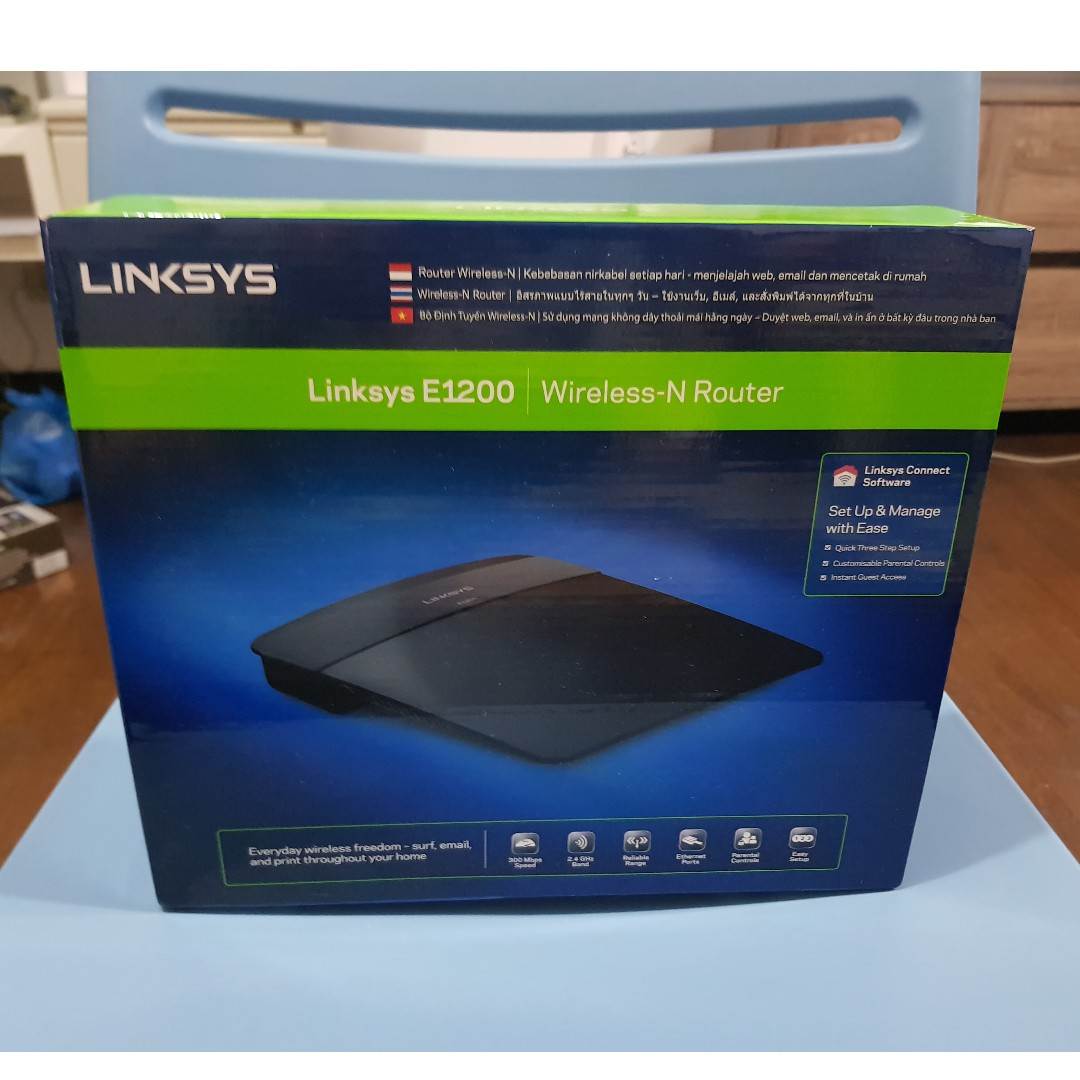 Linksys Wireless Router E1200 on Carousell