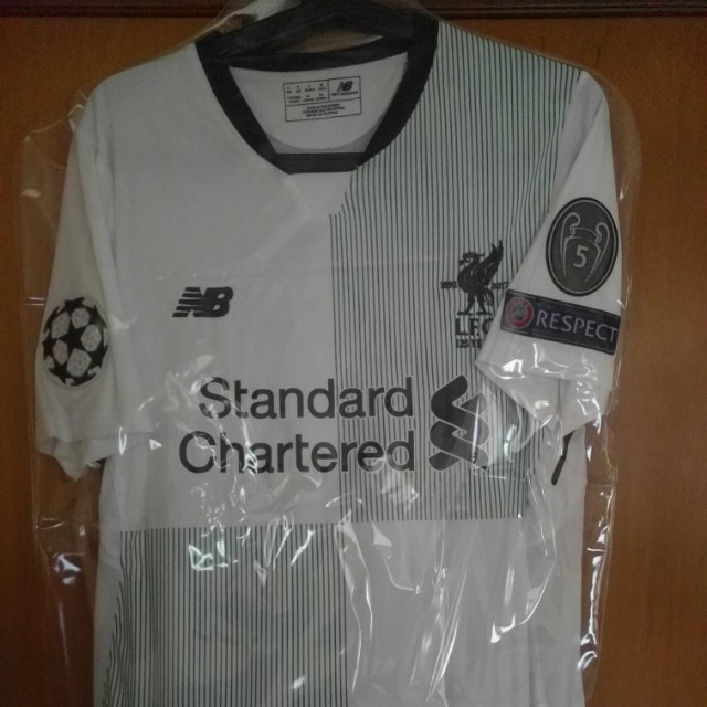 outlet store d22a4 a09fe Liverpool Away Champions League Jersey 17/18, Men's Fashion ...