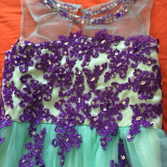 Long Party dress for girls