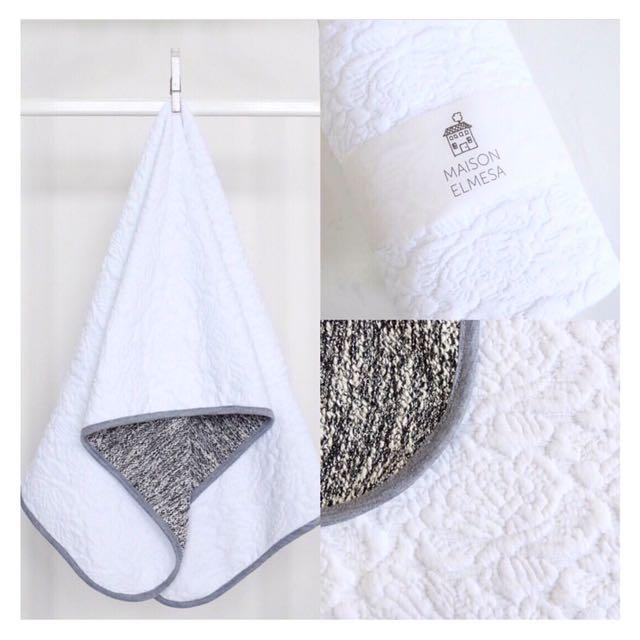 Maison Elmesa Blanket - White Dove