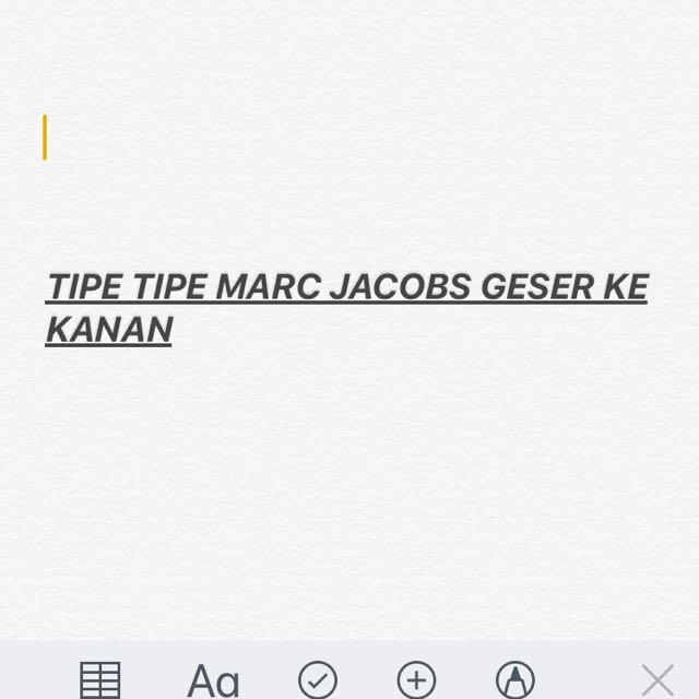 Marc Jacobs Mirror & Super Mirror