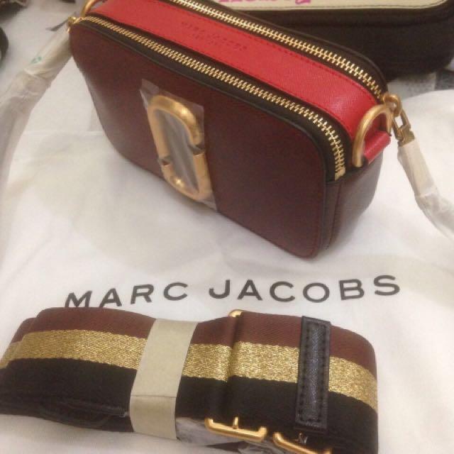 Marc Jacobs Super Mirror Maroon Autumn