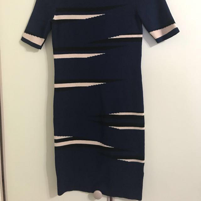 MDS Navy blue dress