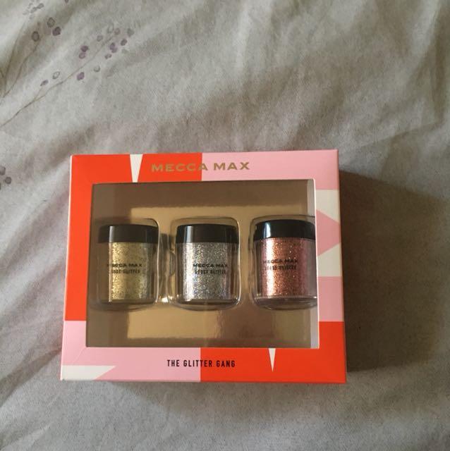 Mecca max glitter pots