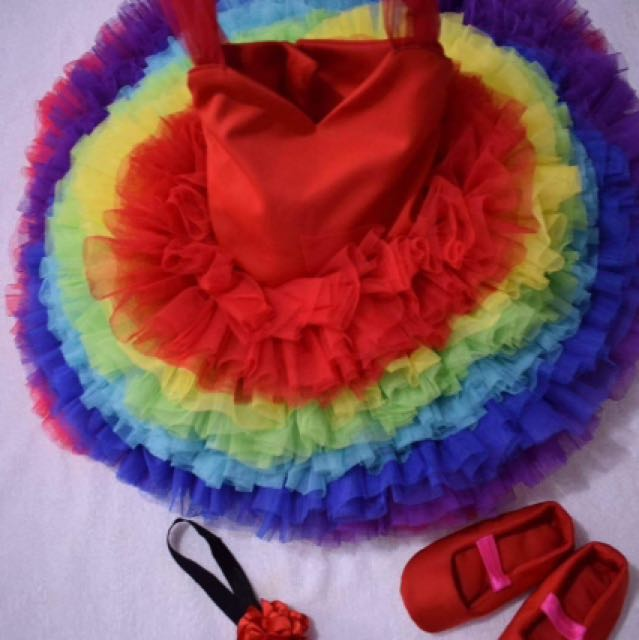 MTO Rainbow Gown for 12mo PACKAGE