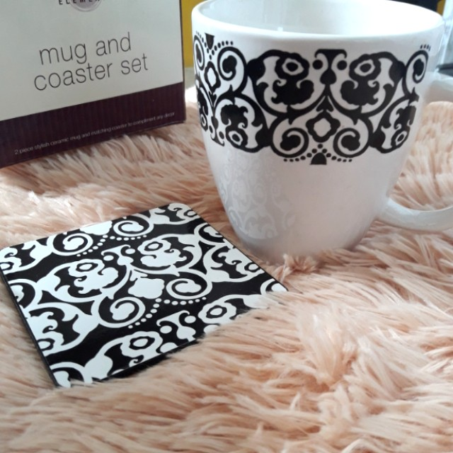 Mug and coaster by Home elements
