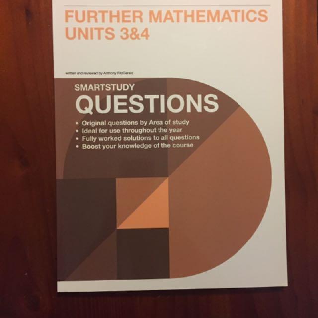 Neap VCE further math questions