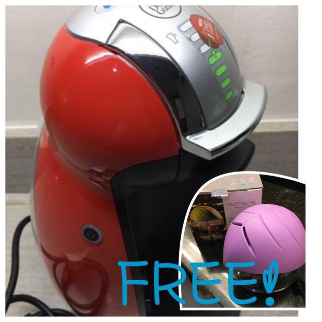 Nescafe Dolce Gusto Coffee Maker (FREE air revitalisor!)
