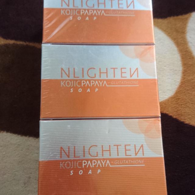 Nlighten Kojic Papaya Soap