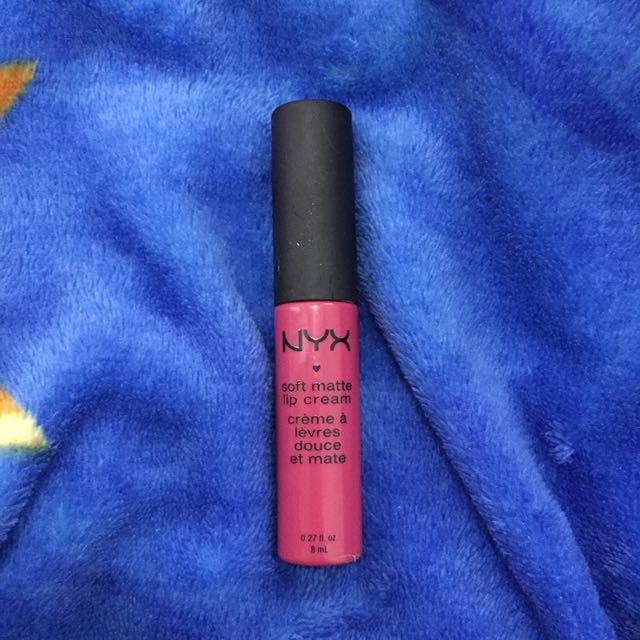 Nyx soft matte lip cream prague