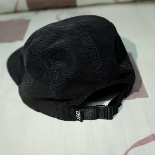 e98f7b0f64835 ONLY NY Black Subway Corduroy 5-Panel Hat   Cap