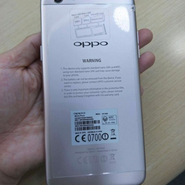 Oppo F3 lady owned