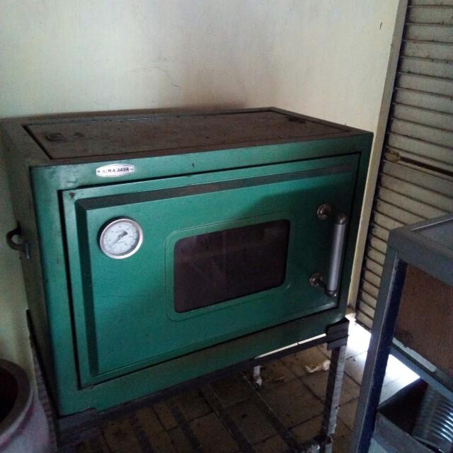 Oven roti size besar pakai Gas Elpiji