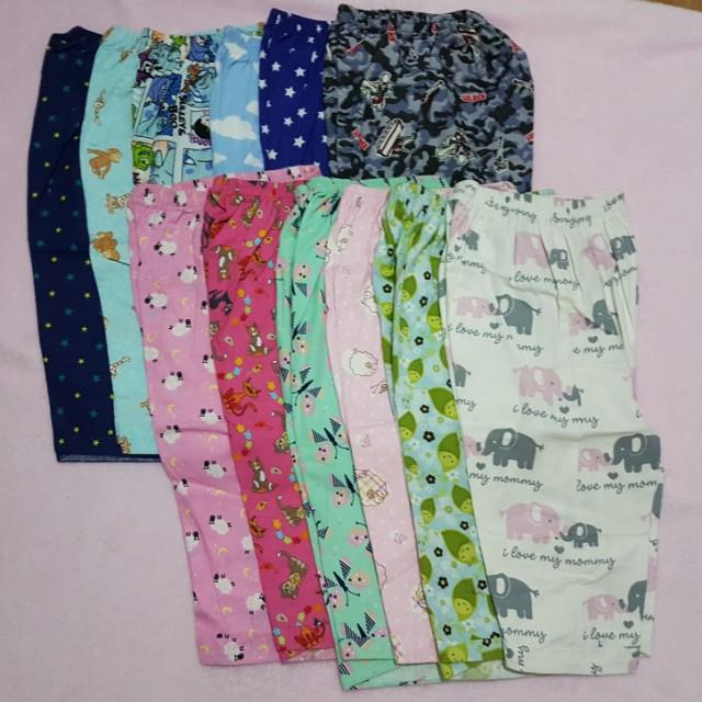 Pajama for Kids set of 3 Flannel