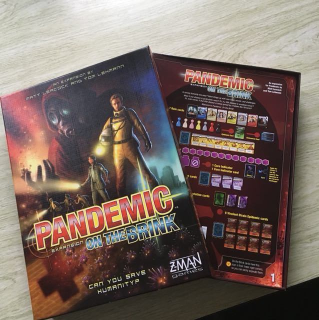Pandemic expansion pack. On The Brink