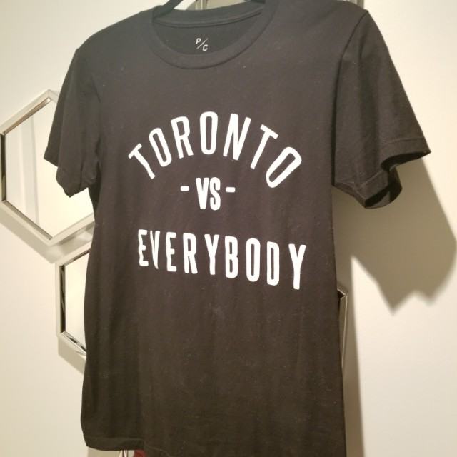 Peace Collective Toronto vs. Everybody t shirt CD Black