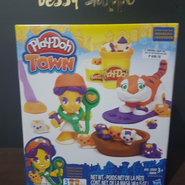 Play Doh Toy Town