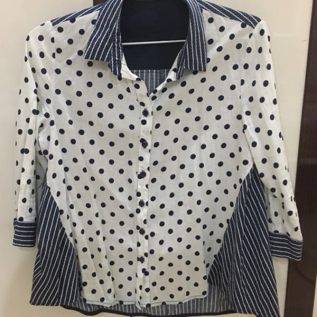 Polkadot Stripe Shirt