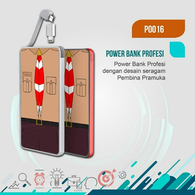 POwerbank custom bisa dijadiin suvenir wedding pernikahan