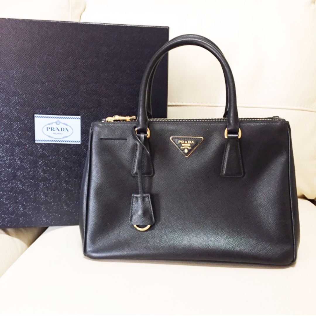 Prada black side bag