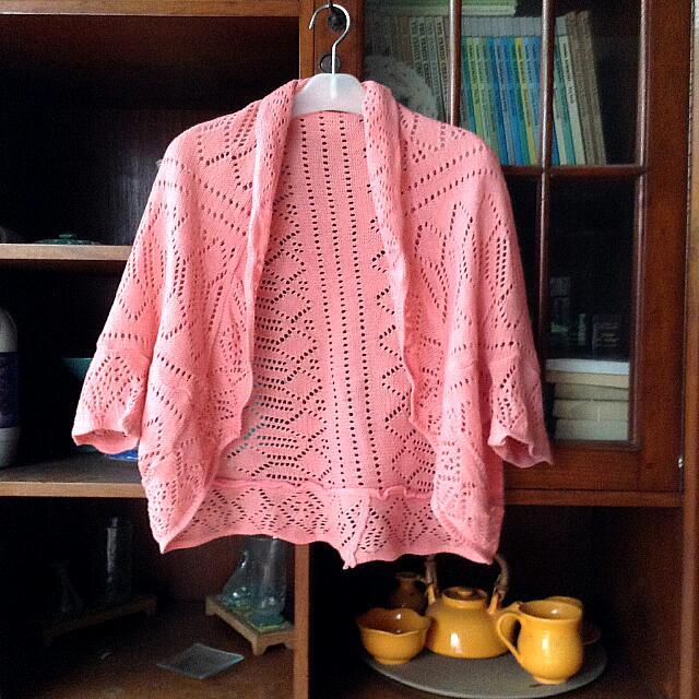 Preloved Pink Cardi