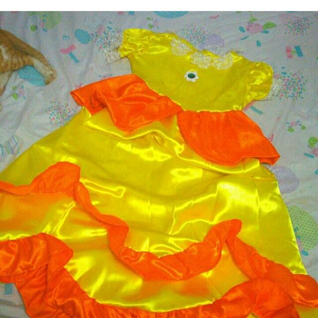 PRINCESS DAISY COSTUME (SUPER MARIO)