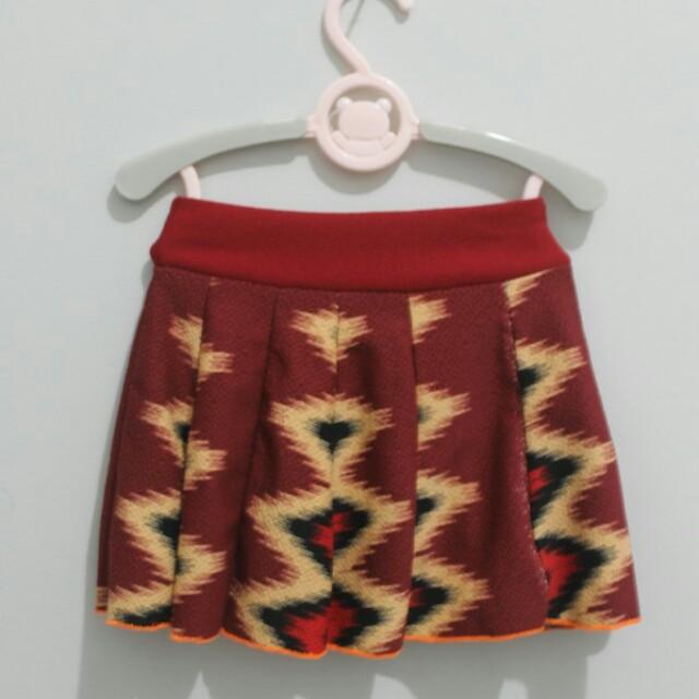 Red Skirt Baby