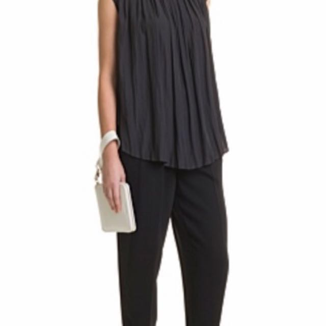 REDUCED- Country Road Soft Pleated Top