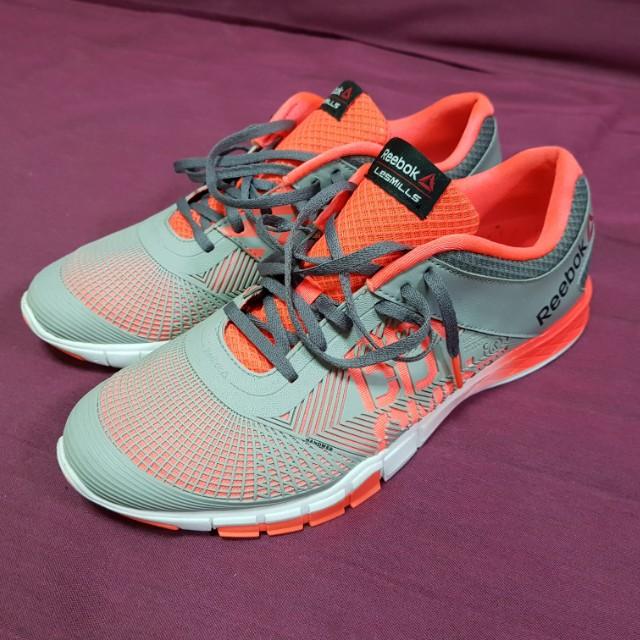 Reebok LESMILLS Touchlite BODYCOMBAT Men s Studio Shoes VitaminC ... 0b38eaf34