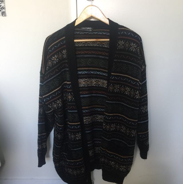 Retro Wool Cardigan