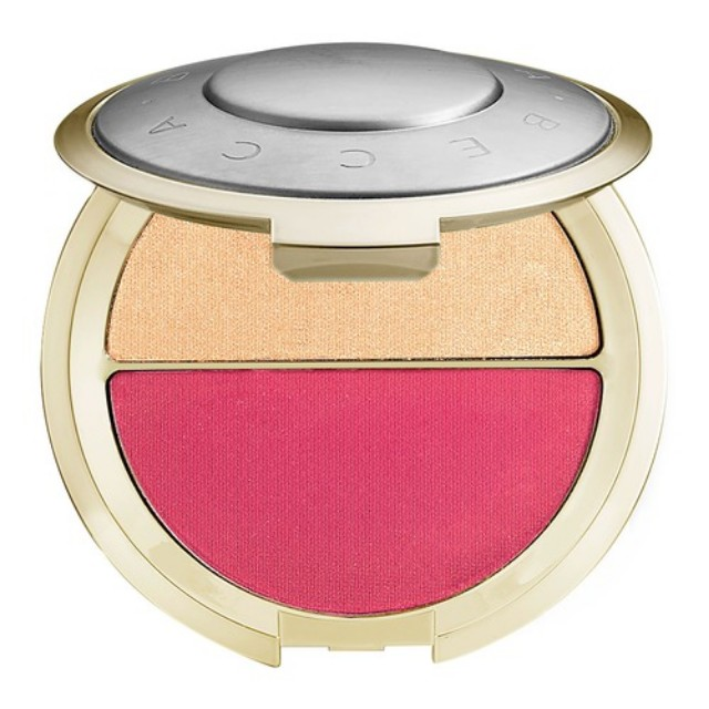 RM168 BECCA x Jaclyn Hill Champagne Splits Shimmering Skin Perfector Mineral Blush Duo Champagne Pop / Hyacinth