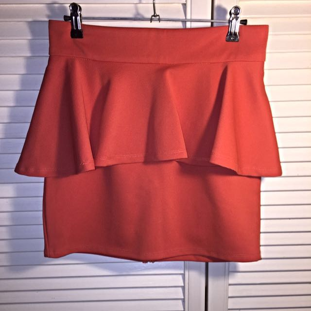 Rust Coloured Skirt