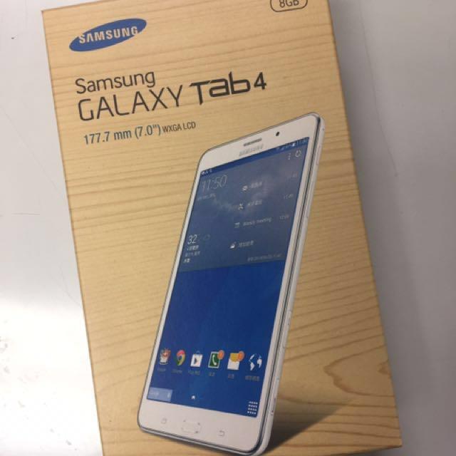 (全新未拆封)三星Samsung GALAXY Tab4