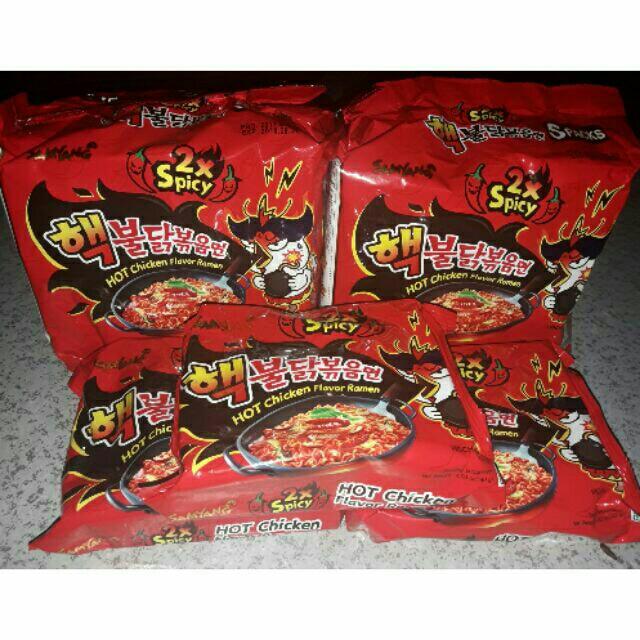 Samyang Spicy Noodles