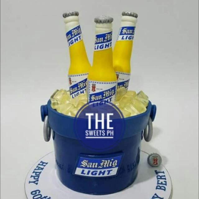 Sanmig Light Beer Cake (Fondant)