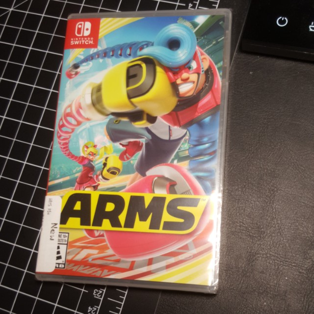 Sealed ARMS nintendo switch