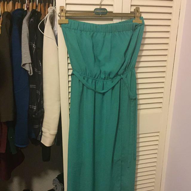 Small Green Maxi Dress