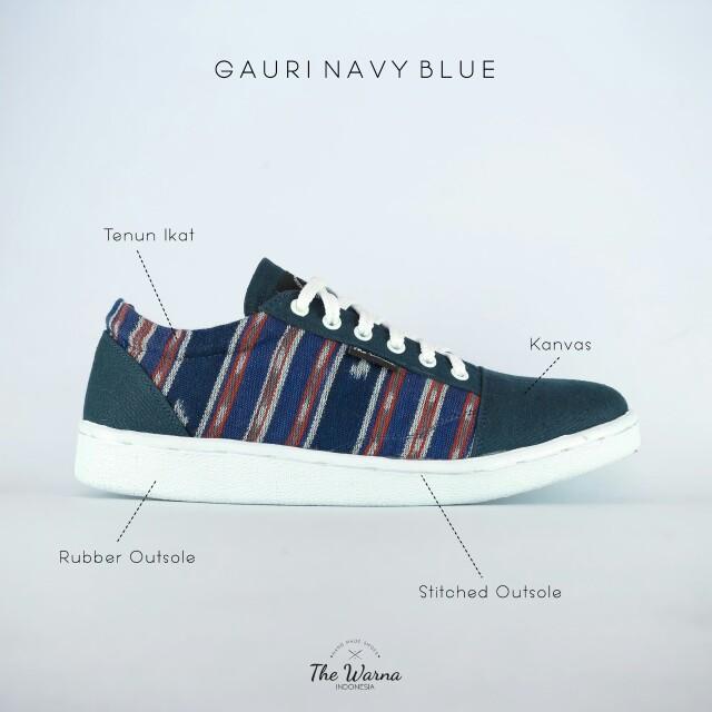 Sneakers Etnik GAURI NAVY BLUE